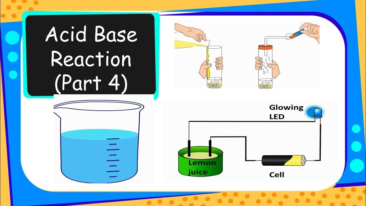 properties and reactions of acids and bases lab report
