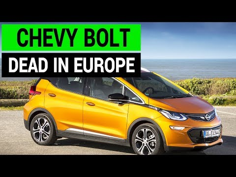 Chevy Bolt is Now Dead in Europe
