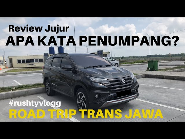 #rushtyvlogg -  Review Road Trip with Toyota All New Rush