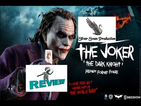 The Joker - The Dark Knight premium format sideshow Statue