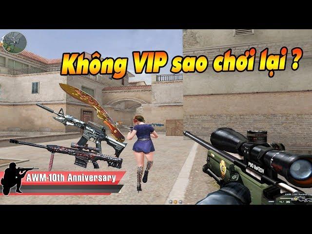 Không item C4 , không súng VIP lại còn gặp hack quá nhọ cho Quang Brave !!!