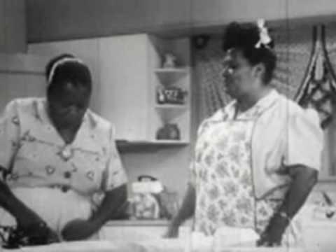 Ruby Dandridge and Hattie McDaniel