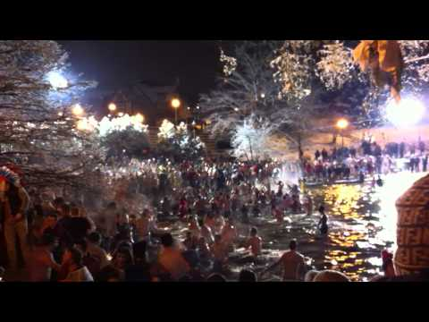 2013 Ohio State Mirror Lake Jump
