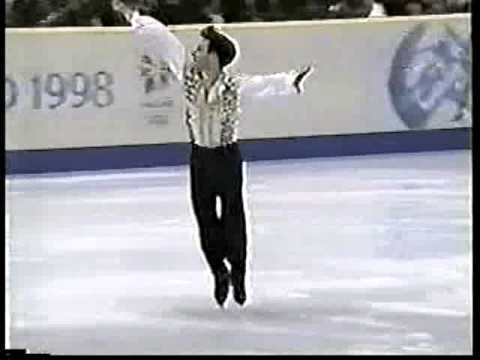 Michael Shmerkin (ISR) - 1998 Nagano, Figure Skating, Men's Short Program