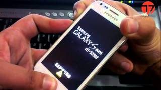 طريقة الدخول على الريكفري في هاتف سامسونج جالاكسي إس دوس s7562