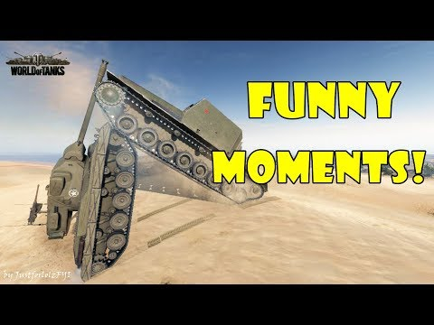 World of Tanks - Funny Moments | Week 2 November 2017
