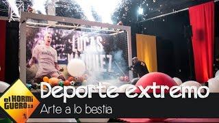 Lucas Vázquez inicia la yincana deportiva más espectacular - El Hormiguero 3.0