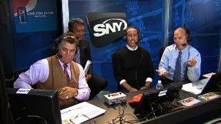 Seinfeld takes turn as member of Mets' booth