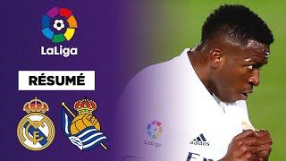 Résumé : Vinicius, sauveur du Real Madrid contre la Real Sociedad !