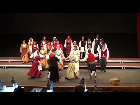 """Choir """"EPTACHORDI LYRE"""" St.Efthimios-""""Mes tou Aigaiou ta nera"""""""