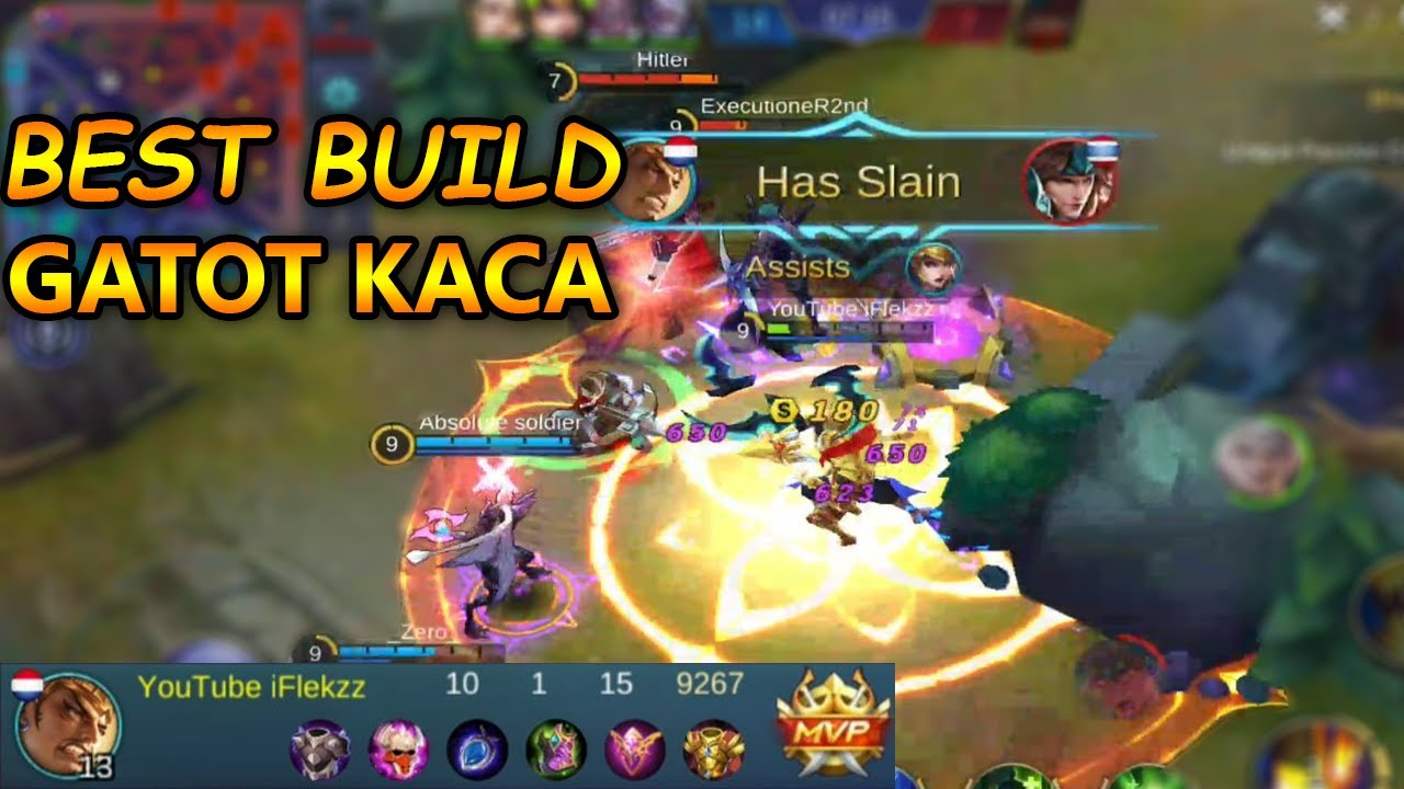 the best build for gatotkaca! mobile legends - youtube