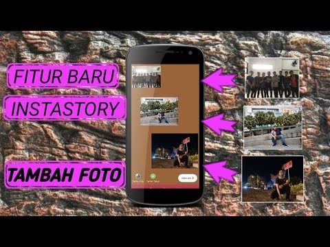 Cara copy foto galeri ke Instastory Android