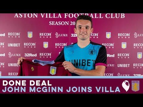 DONE DEAL | John McGinn joins Aston Villa