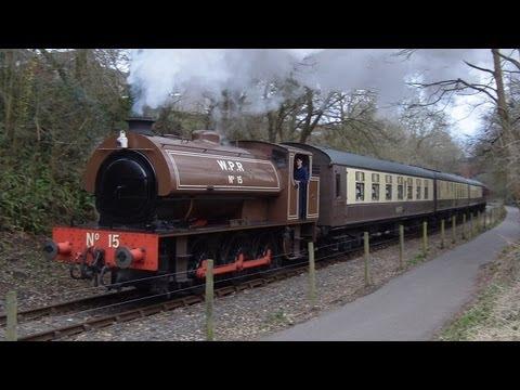 (HD)#RARE# Former Wemyss No15 EARL DAVID Avon Valley Railway 10th March 2013
