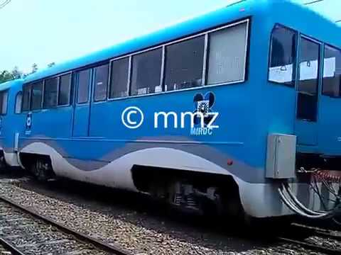 Throwback: DOST-MIRDC Hybrid Electric Train passing PNR Sta. Mesa Station