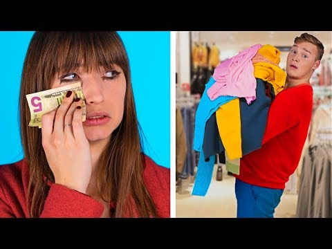 Boys vs Girls Shopping / Real Differences You Can Relate to