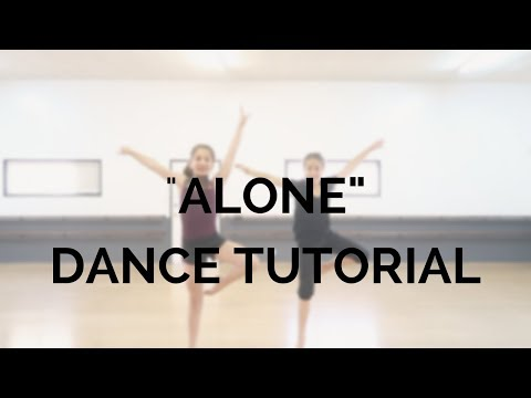 Alone By Halsey Dance Tutorial! | Step By Step