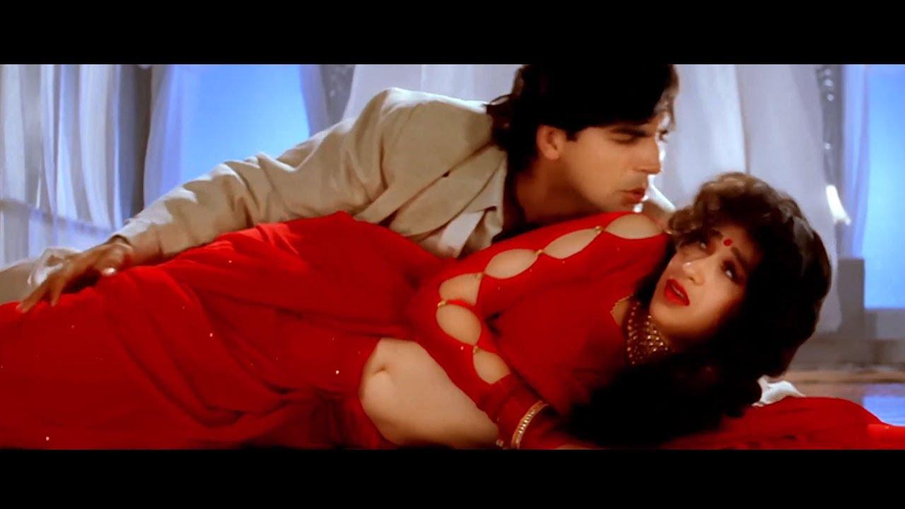 तेरा ये देख के चेहरा 4K - करिश्मा कपूर - अक्षय कुमार - कुमार सानू - Bollywood 4K Song