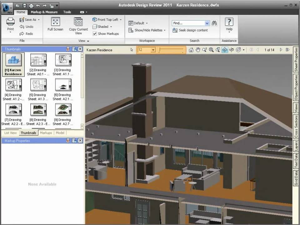 Design review 2011 enhanced 3d lighting field of view for 3d architecture software reviews