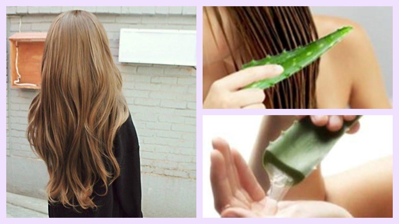 Tratamiento para el cabello sabila