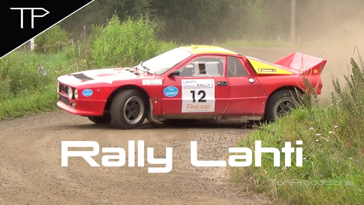 Old school action returns - Lahti Historic Rally 2016 - YouTube