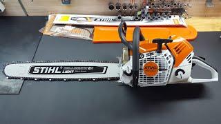 Wtrysk! Pilarka STIHL MS 500i / Chainsaw STIHL MS 500i Injection / Motorsäge STIHL MS 500i