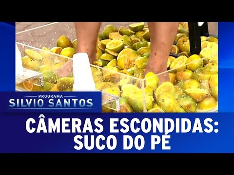 Suco do Pé | Câmeras Escondidas (07/05/17)