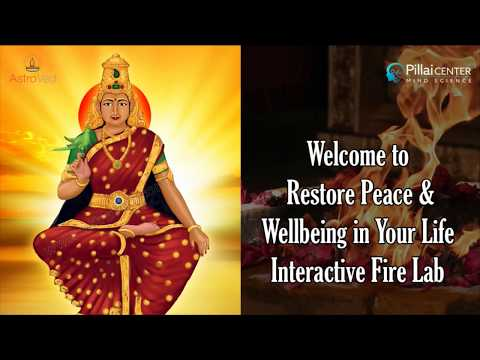 Restore Peace & Wellbeing in Your Life Interactive Fire Lab, 3rd NOV 6PM IST