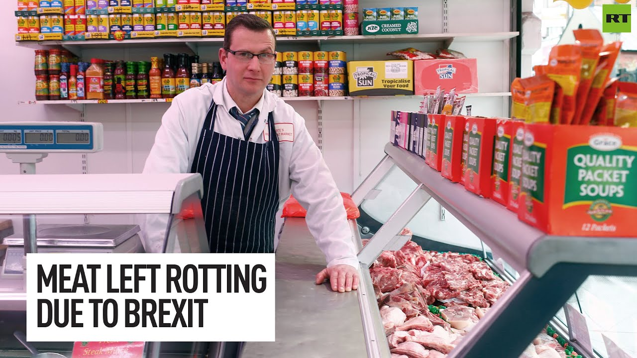 Meat left rotting at border over Brexit red tape