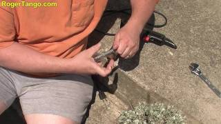 Build your own Drill Spin Starter for your lawnmower, generator or other 4 cycle engines