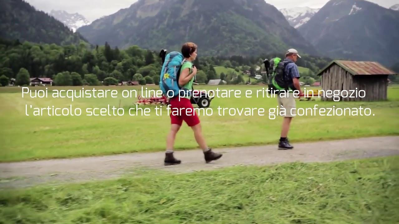733cab9294 Ronco Alpinismo online o in negozio, febbraio 2019 - YouTube