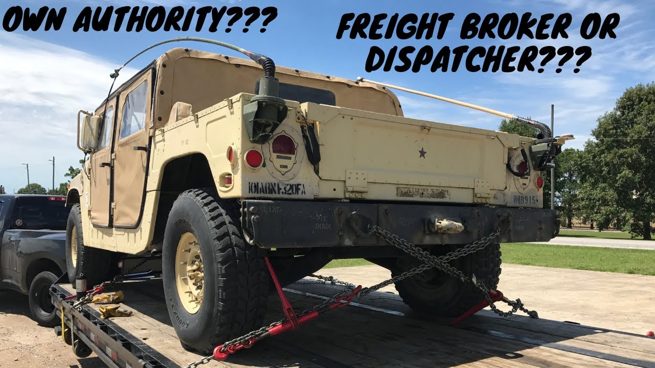 SHOULD I BROKER OR DISPATCH? DIFFERENCE BETWEEN A FREIGHT BROKER AND  DISPATCHER?LEARN BOTH!