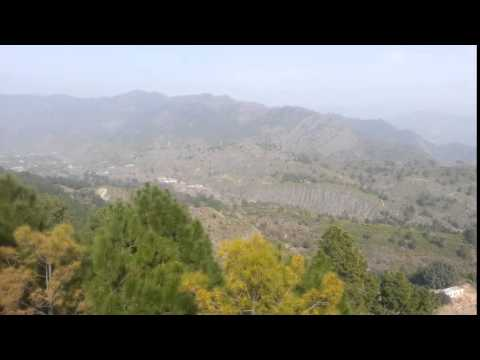 view from hilltop beor kahuta by Anas Hashmi