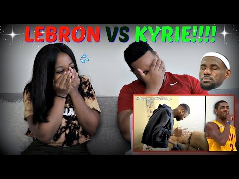 """RDCworld1 """"How Lebron Reacted To Kyrie Being Traded To The Celtics!"""" REACTION!!!!"""