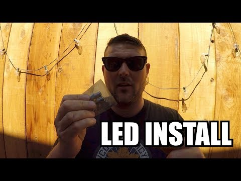 How To Install Replace (LED) SIDEMARKERS 3rd Gen Toyota 4RUNNER