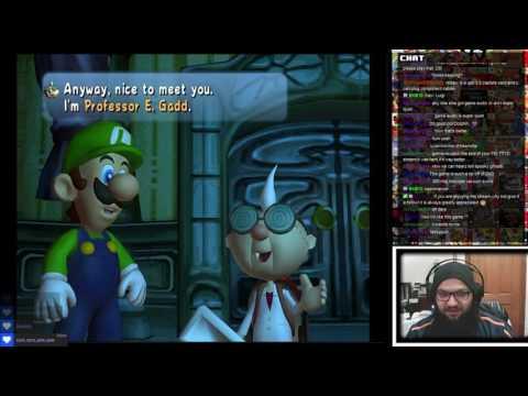 Twitch Livestream | Luigi's Mansion Full Play-through (PC)