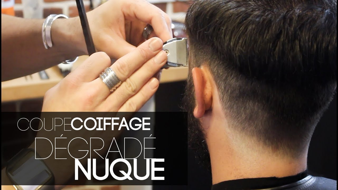 Coupe Homme Degrade Nuque Youtube