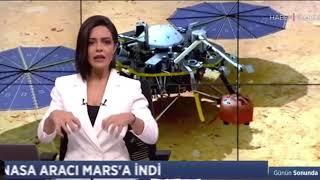 Insight, Mars'a kondu! | Haber Global TV
