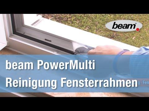 Gut gemocht Fensterrahmen reinigen mit dem PowerMulti von beam - YouTube KI41