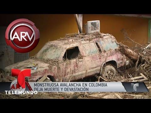 Lo último del desastre en Mocoa, Colombia   Al Rojo Vivo   Telemundo