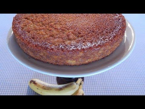 Torta de Cambur - Receta paso a paso !!