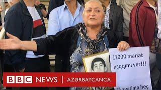 """Milli Şuranın piketi: """"Qoy görsünlər camaat nə gündədir"""""""