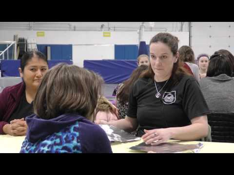 UND Women Engineering Students Spread Message of Math and Science