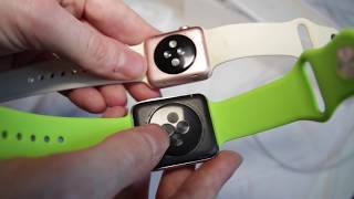 unboxing review real apple watch sport vs chinese fake 3000 subscriber special