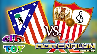 Partido ATLÉTICO DE MADRID Vs. SEVILLA con Adrenalyn XL
