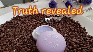 बीमार न कर दे ये Lip crush Macaron lip balm~Review of Nykaa Lip Crush Macaron Lip Balm