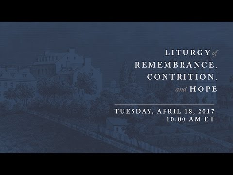 Liturgy of Remembrance, Contrition and Hope