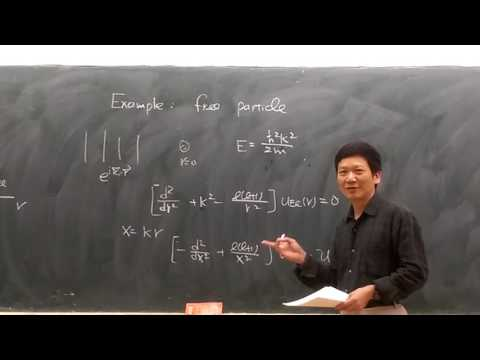 Lecture 8, 3.3_1 ( Central Potentials & Ladder Operators of Angular Momentum )