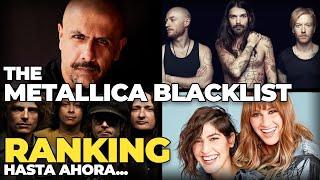 The Metallica Blacklist RANKING Hasta Ahora... - OFF!, Biffy Clyro, HaAsh y Vishal Dadlani