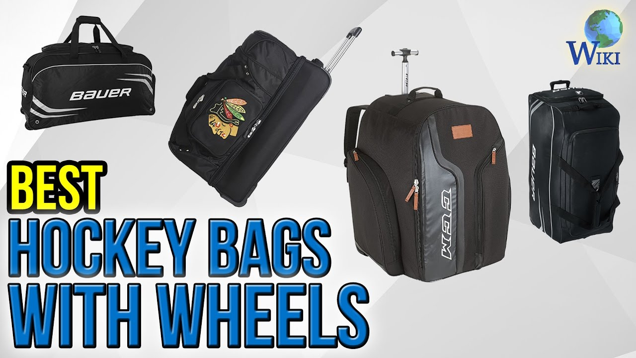 6 Best Hockey Bags With Wheels 2017